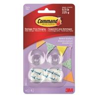 Command Party Banner Anchors 17802CLR-ES