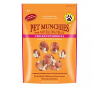 Pet Munchies Dog Treats - Chicken Dumbbells 80g x 8