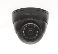 C2 MAX HDCVI 720P Fixed Dome Two Pack (Black)