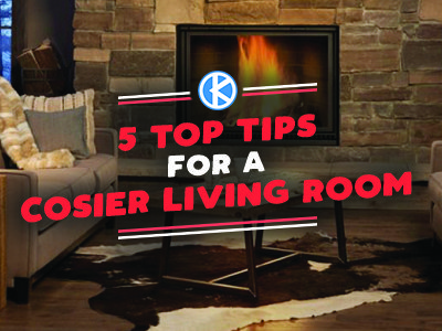 5 Top Tips for A Cosier Living Room