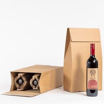 Double Bottle Flexi-Hex. (Pack of 25)