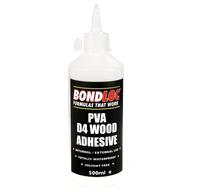 BondLoc D4 PVA Wood  Adhesive Glue 500ml