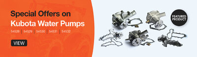 Kubota Water Pump Special offers