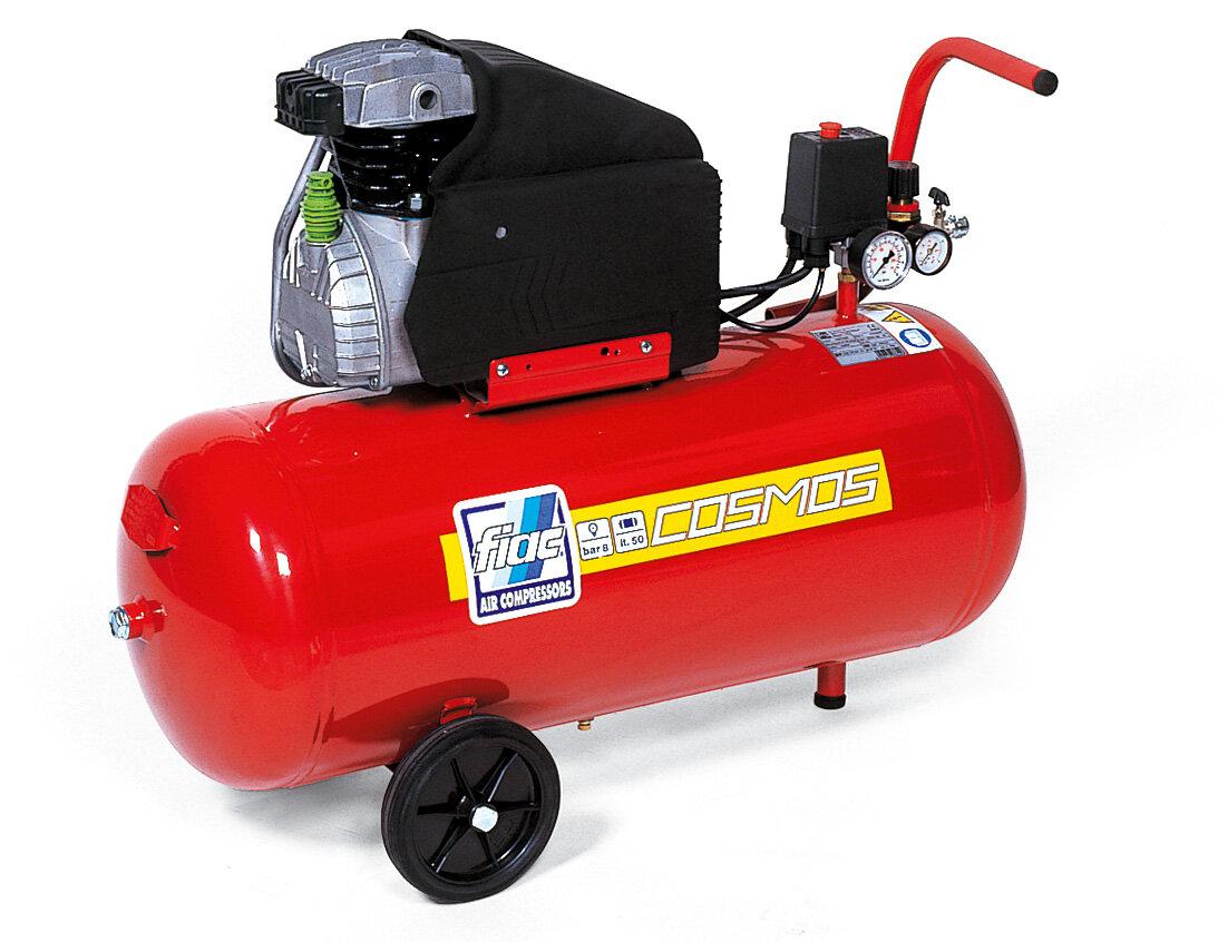 FIAC 5.5HP 50 LTR HONDA PETROL ENGINE COMPRESSOR (S50-410 5.5HP) (144.772.0000)