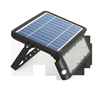 SOLAR GUARDIAN PIR FLOODLIGHT BLACK IP65 10W 1080LM 4000K