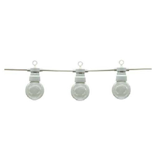 Optonica White Outdoor String Light With Bulbs 10pc 8m