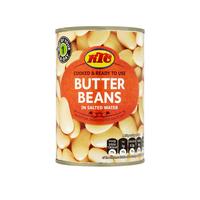 Tin Butter beans KTC 12x400