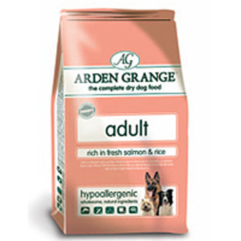 Arden Grange Salmon & Rice Adult Dog Food 2kg