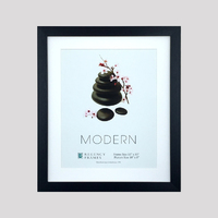 Modern Frame Box Black