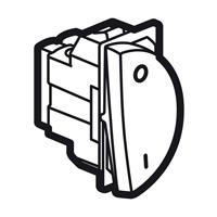 Arteor 20Amp Double Pole 1 Way Switch 1Module Right - White  | LV0501.2567