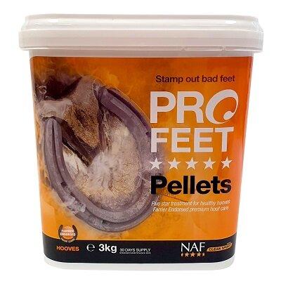 NAF Pro Feet Pellets 3kg