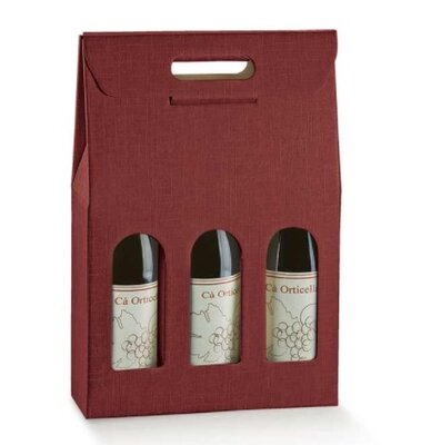 3 Bottle Burgundy Wins Box. (Box of 30)