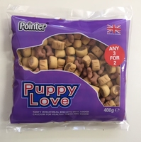 Pointer Puppy Love Mixed Biscuits 400g x 6