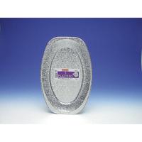 Caroline 3 x 17'' Foil Platters 1072