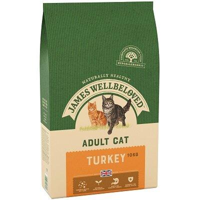 James Wellbeloved Adult Cat Turkey 10kg