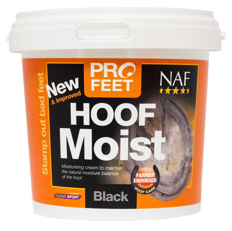 NAF Pro Feet Hoof Moist Black 900g