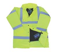 Bodytech HiViz Coat, Yellow