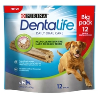 Purina Dentalife Oral Care Sticks Large 12-Stick Loyalty Pack x 3