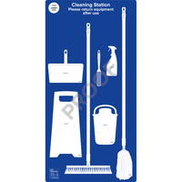 Floor Mopping Station