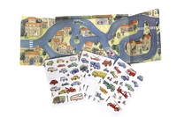 Magnetic Game Cars (P/Sng Units of 4)