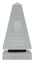 25cm Crystal Award (Satin Box)