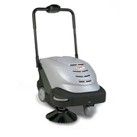 IPC Battery Sweeper 464 in silver which is perfect for shopping centres, airports & factories