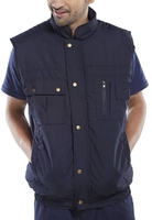 Hudson Navy Lined Body Warmer