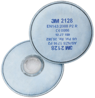3M 2000 Series Filter Range P2 Particulate Protection + Nuisance Level Organic Vapour & Acid Gas