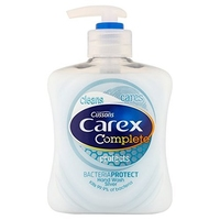 Carex Hand Wash Bacteria Protect Silver 1x500ml