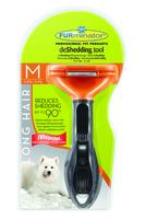 Furminator Long Hair Deshedding Tool for Medium Dogs x 1