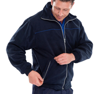CLICK Endeavour Fleece Jacket Navy