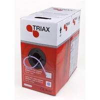 Triax CAT6 UTP LSZH purple Sheet 305mtr