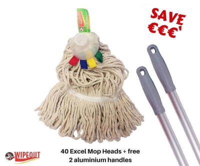 Socket Mop Excel Colour tabs 40pcs