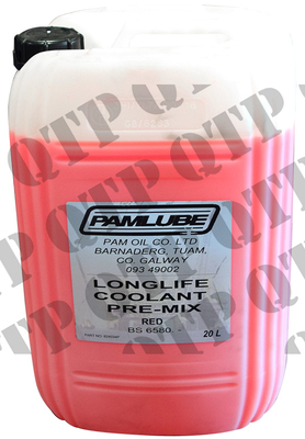 Coolant Red Long Life 20 Ltr
