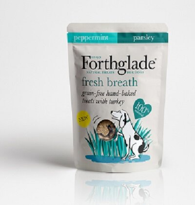 Forthglade Grain Free Fresh Breath Dog Treats 7 x 150g