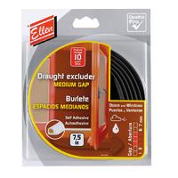 Ellen Medium Gap P Weather Seal 7.5m Black