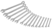 Combination Spanner Set Metric 14 Piece