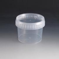 600ml Plastic Tub & Lid.