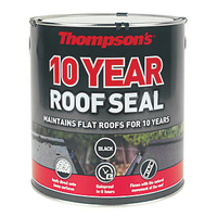 THOMPSONS 10 YEAR ROOF SEAL BLACK 4 LTR