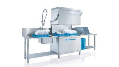 Pass Thru Dishwasher 2 x 500mm Baskets Meiko DV200.2