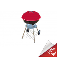 "18"" Kettle BBQ Red With Free 3 Piece Tool Set"