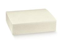 BOX W/LID ONE PIECE 350x280x80CM WHITE MOTTLE