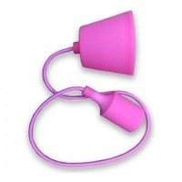 Pink Silicone Pendant