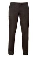Chefs ENOCH 97% Cotton Trousers | Black - 15P08P654
