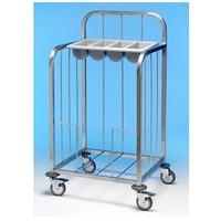 Tray & Cutlery Trolley S/S