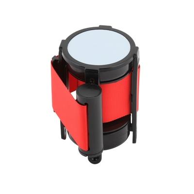 Belt Barrier Red S/S 91cm High x 32cm Dia