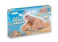 Wooden Cannon Craft Kit. (Priced in singles, order in multiples of 2)