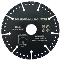 Vires Diamond Multi Cutter 115mm 22.2mm bore
