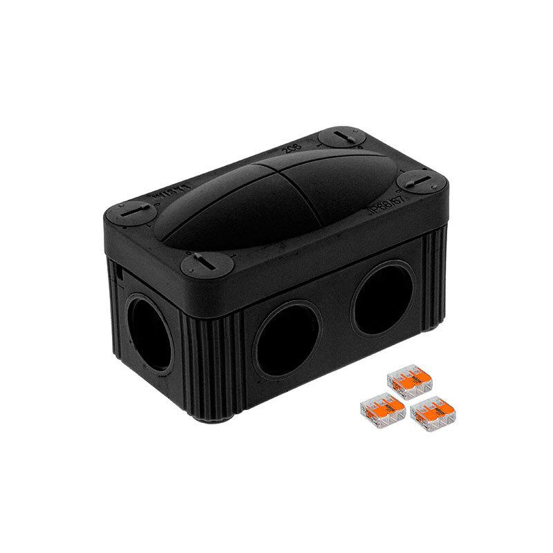 Wiska Combi 206 Junction Box Black 10109900