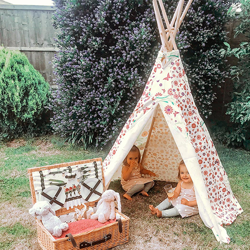 Butterfly Teepee Play Tent 2